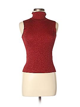 Petite Sophisticate Sleeveless Silk Top Size S