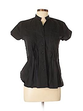 Allison Morgan Short Sleeve Button-Down Shirt Size L