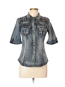 Dereon Denim Jacket Size L