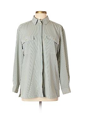 Chaus Long Sleeve Button-Down Shirt Size 10