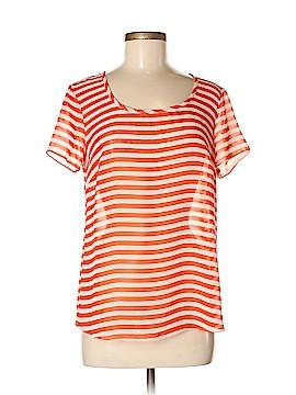 Valerie Bertinelli Short Sleeve Blouse Size M