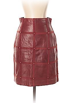 Escada by Margaretha Ley Leather Skirt Size 36 (EU)
