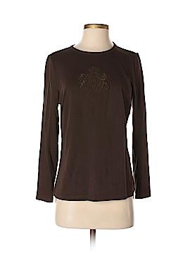 L-RL Lauren Active Ralph Lauren Long Sleeve T-Shirt Size M (Petite)