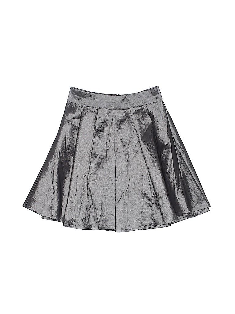 5cf96722655a Sally Miller Metallic Gray Skirt Size 7 - 8 - 93% off | thredUP