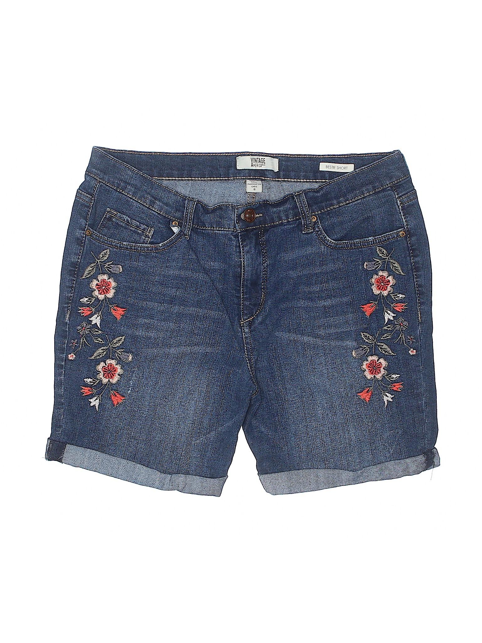 Shorts Vintage Denim Boutique Blues America qUOSvwOnIg