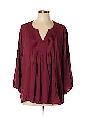 Merona Women 3/4 Sleeve Blouse Size XL