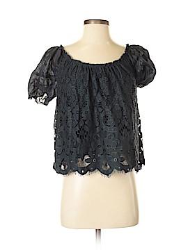 Moulinette Soeurs Short Sleeve Blouse Size XS