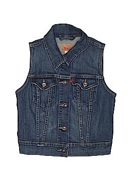 Levi's Denim Vest Size 10