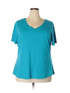 Faded Glory Short Sleeve T-Shirt Size 3X (Plus)