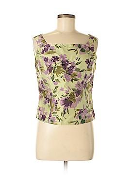 Adrianna Papell Sleeveless Silk Top Size 8