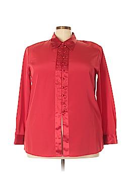 Laura Scott Long Sleeve Blouse Size 22W (Plus)
