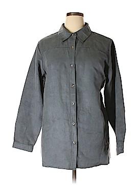 Joan Rivers Long Sleeve Button-Down Shirt Size XL