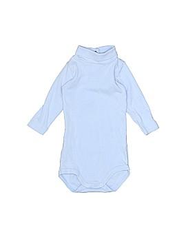 Petit Bateau Long Sleeve Onesie Size 3 mo