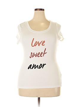 Eva Longoria Short Sleeve T-Shirt Size XL