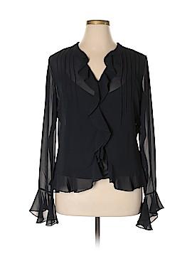Chaps Long Sleeve Blouse Size 16