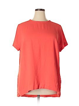 Stylus Short Sleeve Blouse Size 2X (Plus)