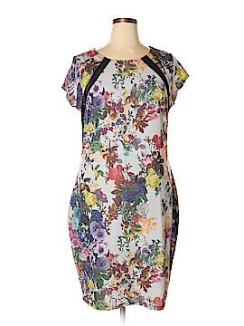 FASHION TO FIGURE Casual Dress Size 3X (Plus)