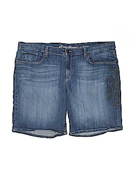 Eddie Bauer Denim Shorts Size 18 (Plus)