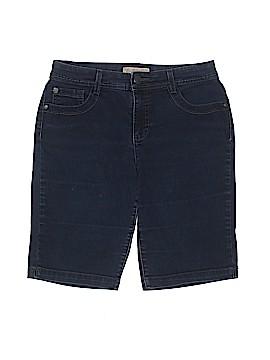 Nine West Vintage America Denim Shorts Size 6