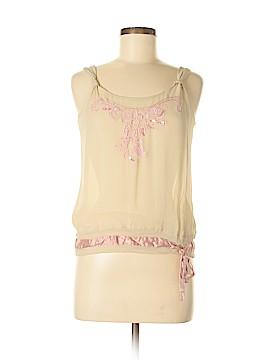 Kmart Sleeveless Silk Top Size M
