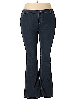 Daisy Fuentes Jeans Size 18 (Plus)
