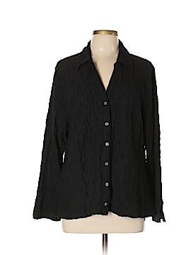 Habitat Long Sleeve Button-Down Shirt Size XL