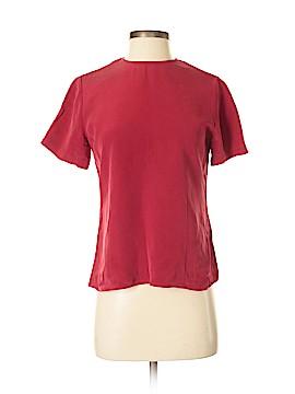 Chaus Short Sleeve Silk Top Size 4
