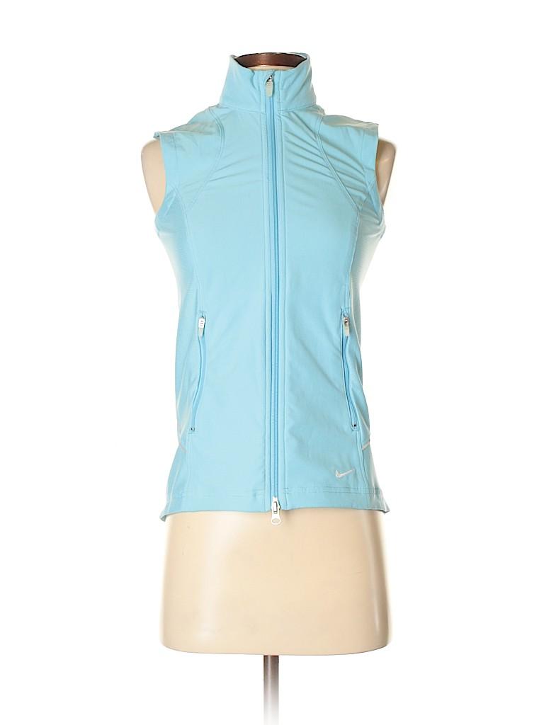 93e55573e377 Nike Solid Light Blue Vest Size XS - 56% off