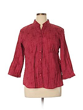 St. John's Bay 3/4 Sleeve Blouse Size XL