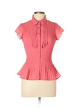 East 5th Short Sleeve Blouse Size L (Petite)