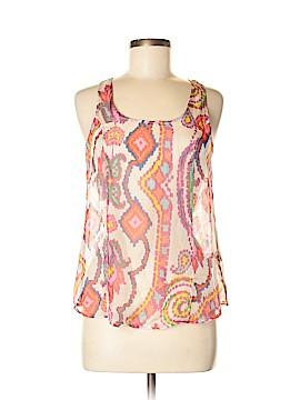 Romeo & Juliet Couture Sleeveless Silk Top Size M