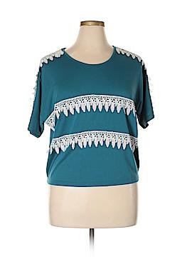 Katia Short Sleeve Top Size L