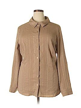 Laura Scott Long Sleeve Blouse Size 24 - 26W (Plus)