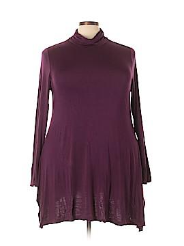 Soft Surroundings Long Sleeve Top Size 3X (Plus)