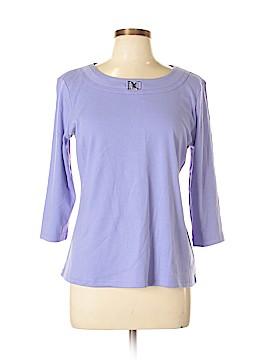 Karen Scott 3/4 Sleeve Top Size L (Petite)
