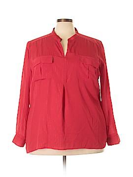 Kim Rogers Signature Long Sleeve Blouse Size 3X (Plus)