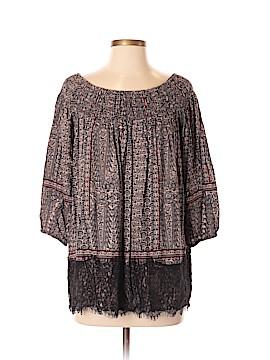 Vanessa Virginia 3/4 Sleeve Blouse Size S