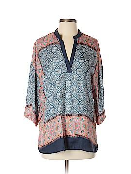 Zara Basic 3/4 Sleeve Blouse Size S