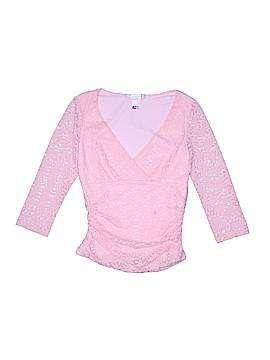 La Belle 3/4 Sleeve Blouse Size L