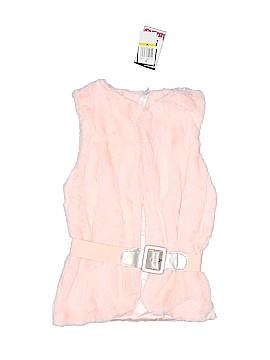 Beautees Faux Fur Vest Size M (Youth)