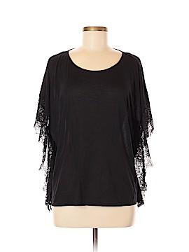 Jennifer Lopez Short Sleeve Blouse Size M