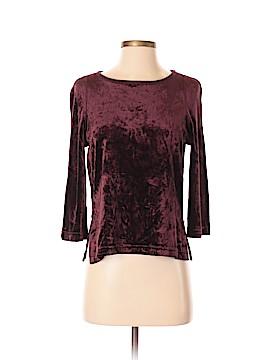 Sonia Rykiel 3/4 Sleeve Top Size S