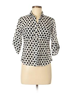 Ann Taylor Factory Short Sleeve Button-Down Shirt Size 2 (Petite)