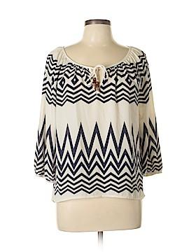 Rewind 3/4 Sleeve Blouse Size L