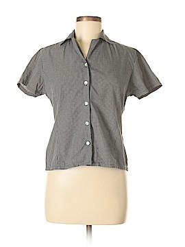 Paul Harris Design Short Sleeve Button-Down Shirt Size S