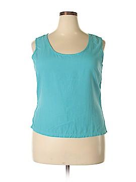 Spiegel Sleeveless Silk Top Size 18 (Plus)