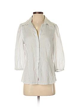 Banana Republic Factory Store 3/4 Sleeve Button-Down Shirt Size M