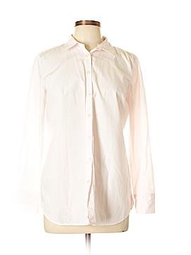 Ann Taylor LOFT Long Sleeve Button-Down Shirt Size 14 (Petite)