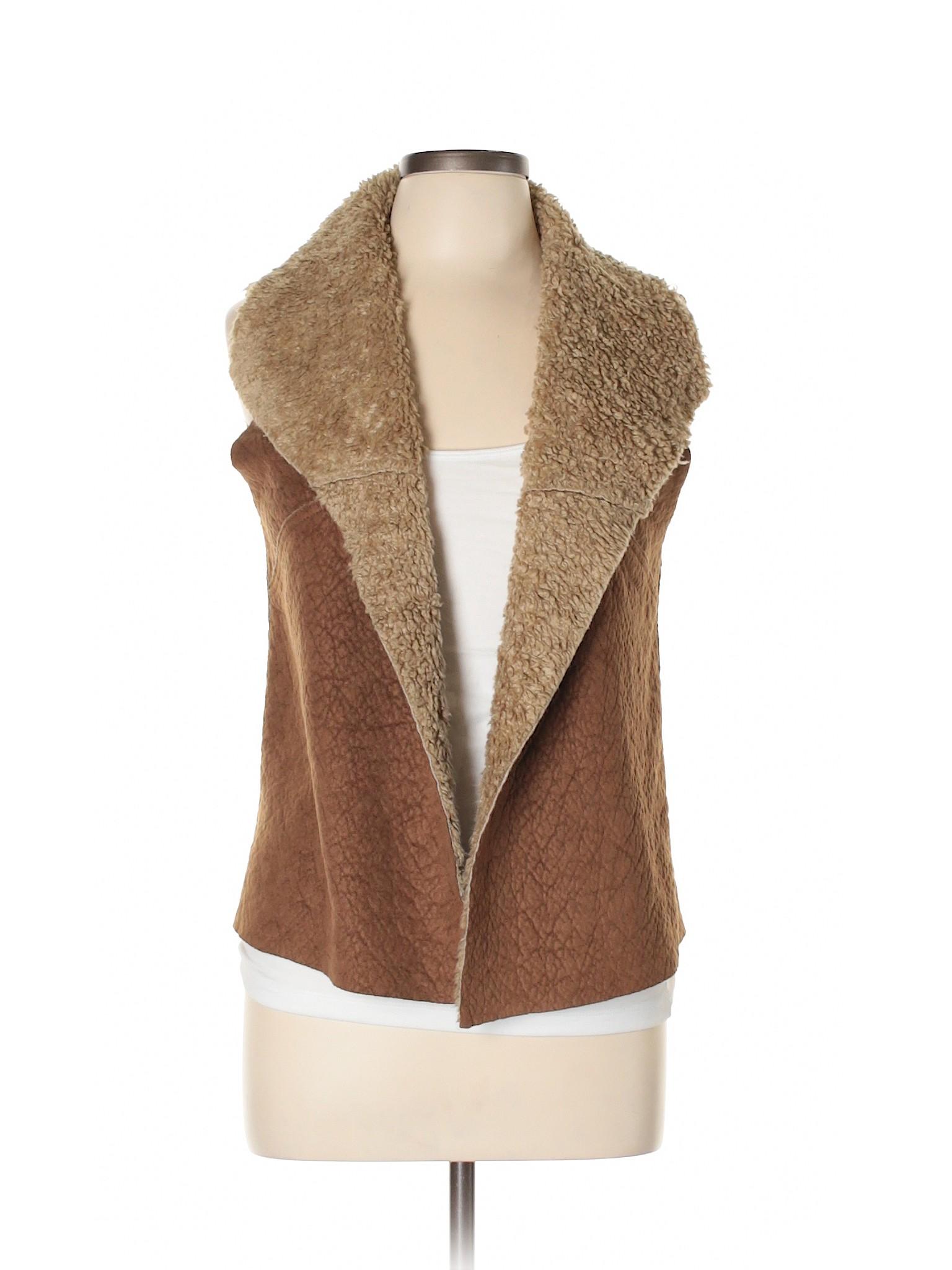 Vest Zara Faux Basic Leisure Winter Fur 5vqA5Xxtw