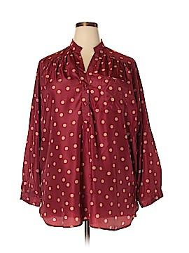 Fun2Fun Long Sleeve Blouse Size 3X (Plus)